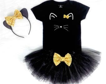 girls cat costume baby girl cat costume toddler girl costume toddler cat costume cat halloween costume baby cat costume girls cat shirt