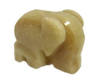 Natural Onyx Elephant Figurine