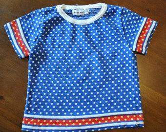Vintage Toddler Shirt, Vintage Clothing, Kids Clothes