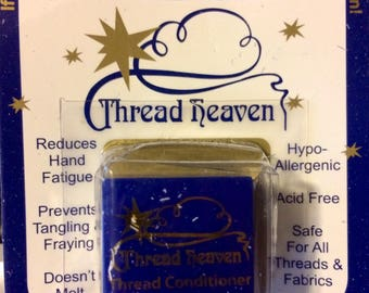 Thread Heaven Thread Protectant Cross Stitch Quilting Hand Sewing Beadwork