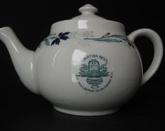 Canton Resturant Tea Pot