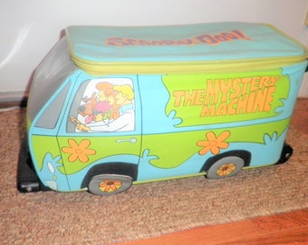 Vintage Scooby Doo The Mystery Machine luggage bag