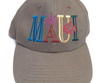 MAUI- Hawaiian Baseball Hat
