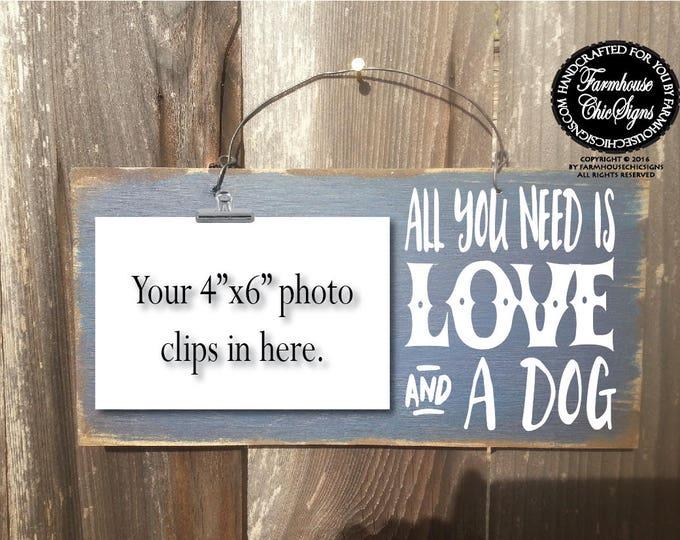 dog, dog gift, dog decor, dog owner gift, gift for dog owner, all you need is love and a dog, dog decor, dog wall art, dog decoration