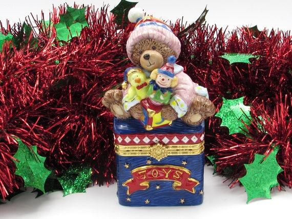 Hinged Christmas Trinket Box