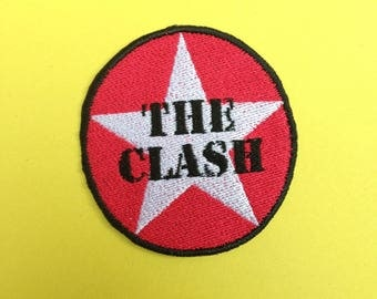 The Clash Iron-on Patch