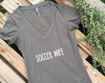 Soccer, Wife Shirt, Mama
