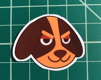 Animal Crossing Sticker | Butch