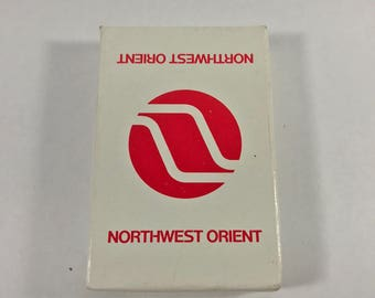 Northwest orient airlines playing cards   Sealed package  airways
