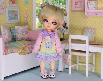wig for lati yellow and pukifee DW#005