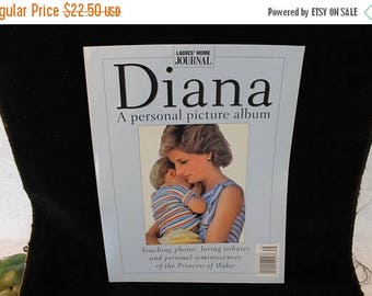 SALE 1997 Ladies Home Journal Magazine - Diana, A Personal Picture Album Touching Photos, Loving Tributes