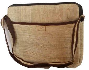 Eco Friendly Pure Hemp  Side Handbag