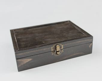 Sale Item- 75ct Hinged Proof Box (holds 75 photos)
