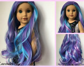 Zazou Dolls WIG for 18 Inch dolls such as Journey, Our Generation and American Girl