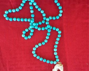Turquoise ans Druzy