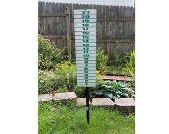 """Cornehole Scoreboard 48"""" Height"""