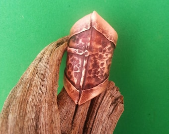 Handmade Copper Cuff Ring