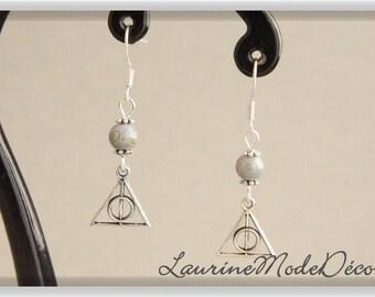 Relics grey Pearl Earrings