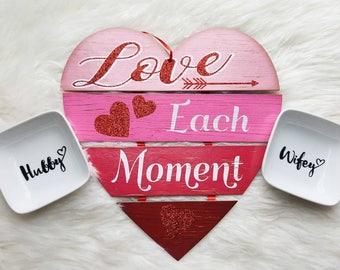 Ring dish holder/ring dish/ring dish engagement/ring holder wedding/ring holder dish/ring dish his and hers/couples ring dish/wedding rings