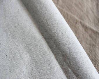 fabric linen off white cotton thread thin 3 m