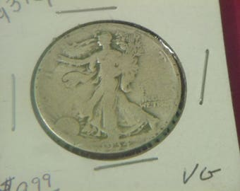 1934 P Walking Liberty Silver Half Dollar