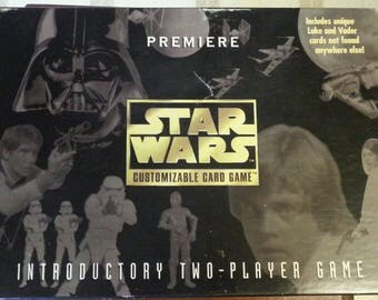 1995 Star Wars Premiere Customizable Card Game Vintage Parker Brothers SEALED
