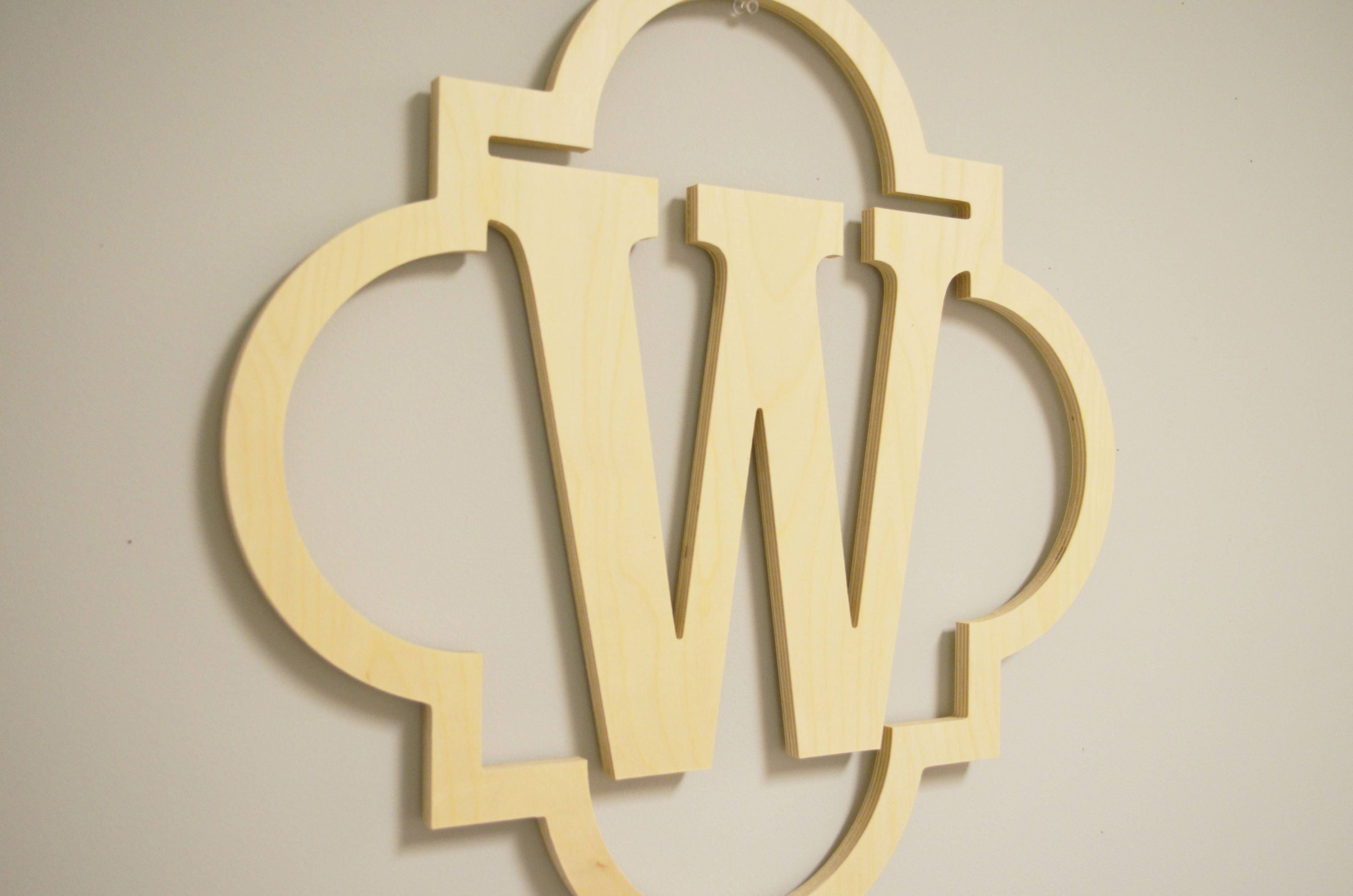 Cool Wood Letter Wall Decor Contemporary - The Wall Art Decorations ...