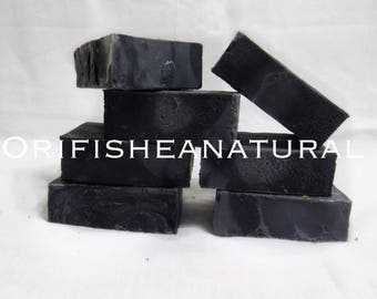 Activated Charcoal soap (Tea tree/rosemary essential oil) 4.4oz