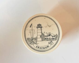 Lighthouse Box - Lighthouse Decor - Lighthouse Style - Chatham Souvenir - Lighthouse Souvenir
