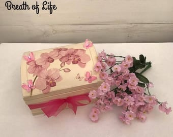 Memory box, keepsake box, dresser box