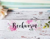 Bookmark - Back to School - Watercolor Art - Teacher Gifts - Book Accessories - Christmas Gift Idea - Book Club Gifts