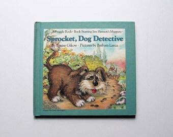 Fraggle Rock Book Sprocket, Dog Detective 1985