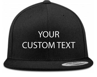 Custom Snapback Hat - Custom cap - customizable baseball cap - personalized hat - custom hat