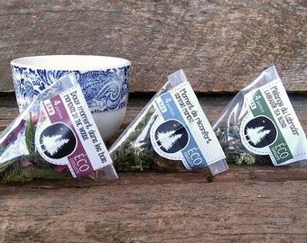 Herbal teas - Responsible picking - Discovery size of 4 portions
