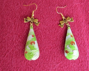 "VERY good deal - EARRINGS ""Drops"" old, whose story you will be whispered..."