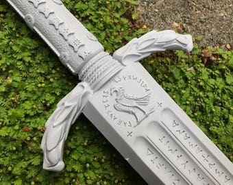 Wonder Woman Sword - Prop for Cosplay or Display - Unfinished Kit