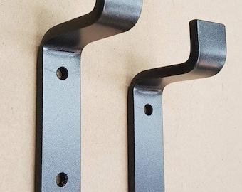 "1.75 - 2.5"" Light Load Shelf Bracket. Iron Bracket. Hand Forged Metal."