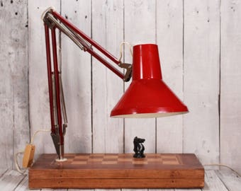 Night light lamp, Extendable lamp, Vintage night light lamp, Bedside lamp, Retro desk lamp, Night lamp on chess board stand, Desk lamp 60's