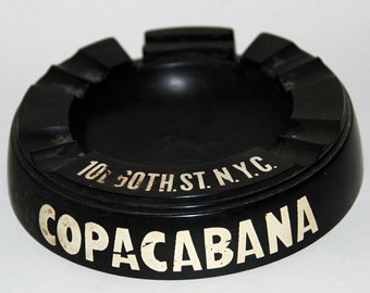 1940s-'50 Era World Famous Copacabana Nightclub Bakelite Astray -- Free Shipping!
