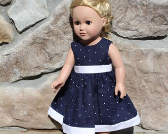 18 inch doll clothes, doll clothes, doll dress