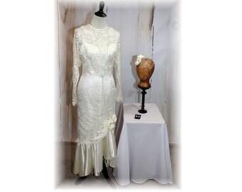 1920s Style Bride Flapper Downton Abbey Wedding Roaring 20s Vintage