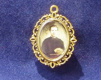 Saint John Bosco Religious Medal, Patron saint of Apprentices, Young People, Boys
