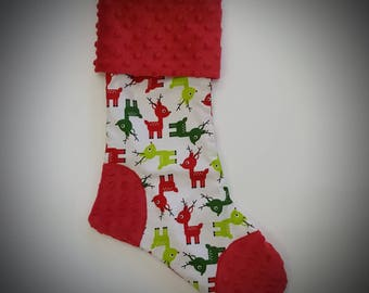 Christmas stocking - Xmas - Queen - personalization
