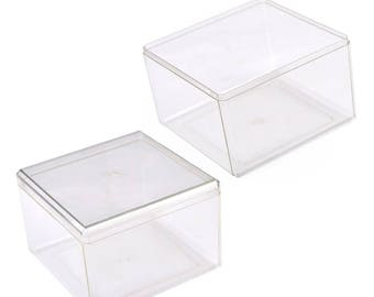 Transparent Multi-Functional Crystal Storage Box-WEN553549048825-GVN
