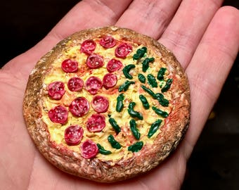 Back to the Future Inspired Rehydrated Mini Pizza Prop for Cosplay