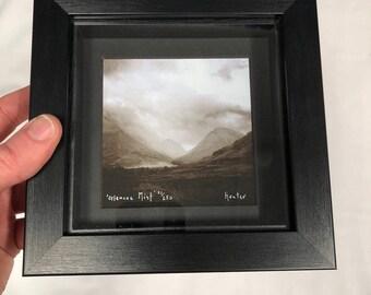 Glencoe Mist Box Framed Limited Edition