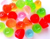 2/5/10 pcs jelly pudding sweet cabochons - kawaii - fake candy food - flatback - decoden - scrapbooking - jewellery cab - craft supply