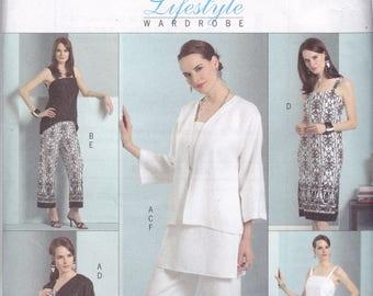 Butterick 4810 Vintage Pattern Womens  Jacket, Dress, Pants, Tunic and Top Size 14,16,18,20 UNCUT