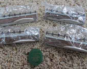 """Dept 56 Heritage Village Collection """"CHURCHYARD FENCE EXTENSIONS"""" #5807-6 in the original Styrofoam insert and box/sleeve"""