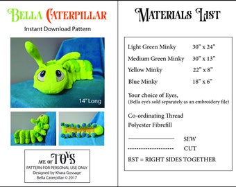 Bella Caterpillar Download Pattern